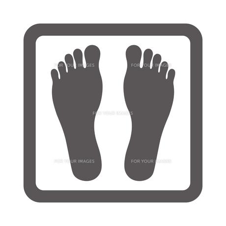 足の裏のイラスト素材 [FYI00795121]
