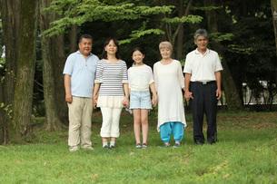 3世代家族の写真素材 [FYI00795589]