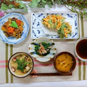 お料理教室でしたの写真素材 [FYI00795776]