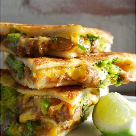 チーズメルト・サンドイッチの写真素材 [FYI00795789]
