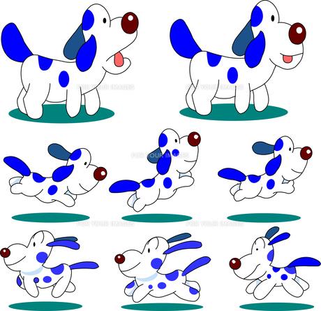 犬20匹のイラスト素材 [FYI00796113]