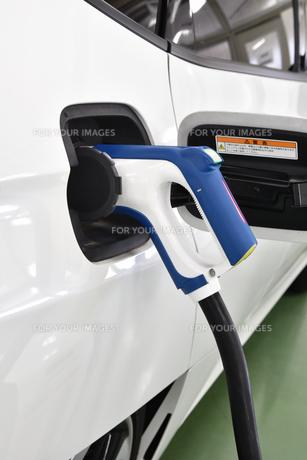 燃料電池自動車の写真素材 [FYI00796402]