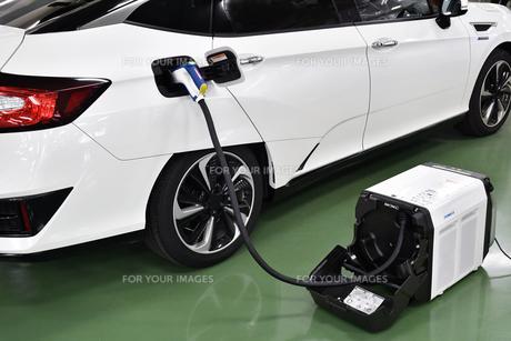 燃料電池自動車の写真素材 [FYI00796404]
