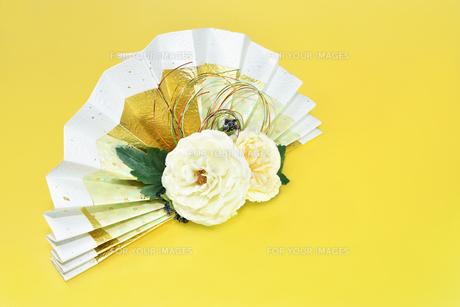 扇子型のブーケの写真素材 [FYI00796429]