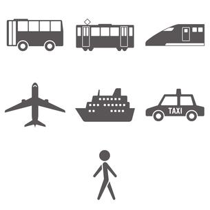 乗り物 交通手段のイラスト素材 [FYI00796509]