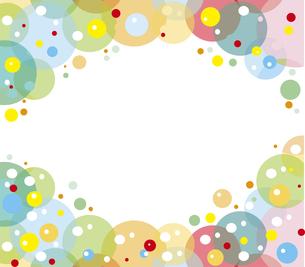 バブルの背景のイラスト素材 [FYI00797111]