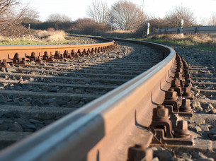 rail trackの素材 [FYI00797159]
