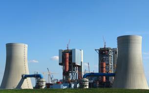 new power plant neurathの写真素材 [FYI00797408]
