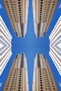 skyscraper-cityの写真素材 [FYI00797432]