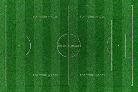 football fieldの写真素材 [FYI00797437]