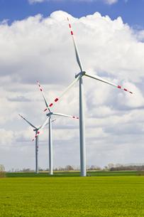 wind turbines farmの写真素材 [FYI00798919]