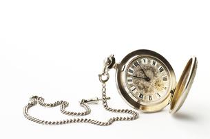 old pocket watchの写真素材 [FYI00799377]