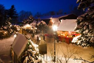 historical christmas marketの写真素材 [FYI00799810]