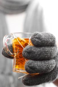 to drink teaの素材 [FYI00800055]