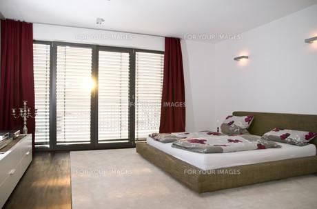 interior of a modern bedroomの素材 [FYI00800305]