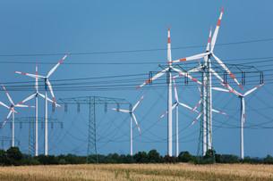 wind turbinesの写真素材 [FYI00800541]