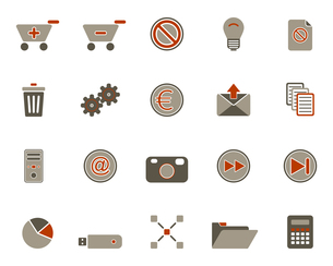 iconsの写真素材 [FYI00800604]