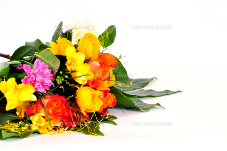 colorful flower bouquetの素材 [FYI00800664]