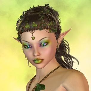 portrait of a fairyの素材 [FYI00800673]