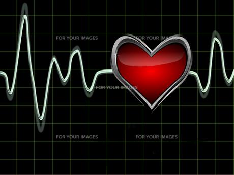 heartbeatの写真素材 [FYI00800705]