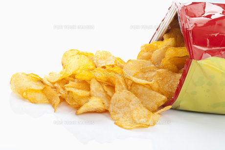 paprika chipsの写真素材 [FYI00800713]