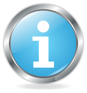 information buttonの写真素材 [FYI00801118]