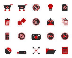 iconsの写真素材 [FYI00801690]