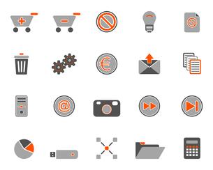 iconsの写真素材 [FYI00802063]