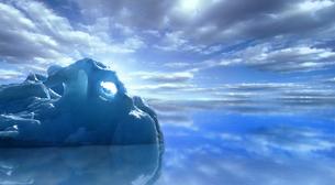 drifting icebergの素材 [FYI00802352]