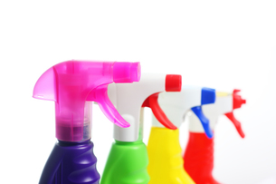 cleaners in spray bottlesの素材 [FYI00802505]