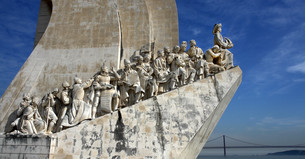 belem discovery monumentの写真素材 [FYI00802647]