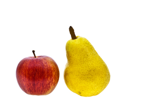 apple and pearの写真素材 [FYI00802857]