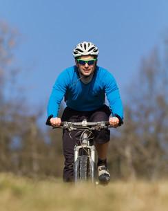 mountain bikersの写真素材 [FYI00803288]