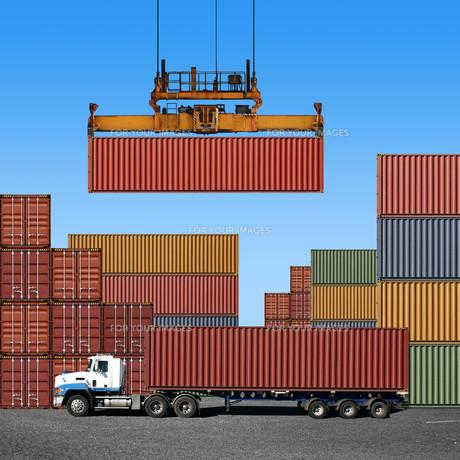 logistic_transportの写真素材 [FYI00803460]