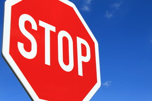 stopの写真素材 [FYI00803544]