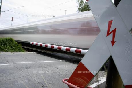 passing trainの写真素材 [FYI00803632]