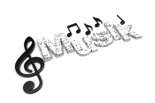 music is a keyの写真素材 [FYI00804217]