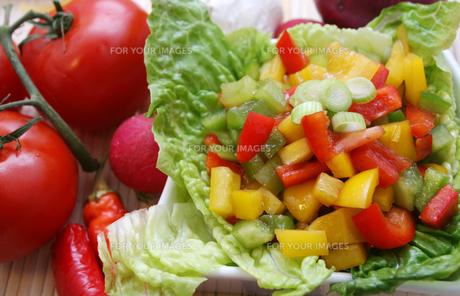 lettuceの写真素材 [FYI00804550]