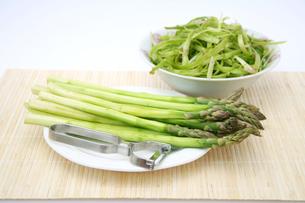 asparagusの写真素材 [FYI00804571]