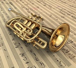 trumpetの素材 [FYI00805173]