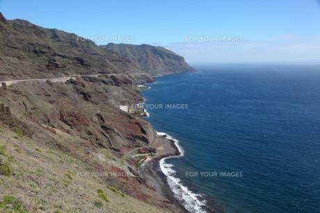 coast of tenerife,canary islands spainの写真素材 [FYI00805723]