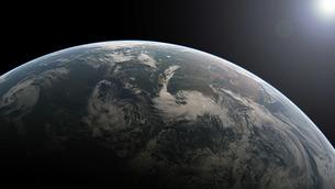 planet earthの写真素材 [FYI00806158]