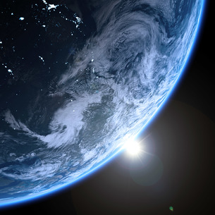 planet earthの写真素材 [FYI00806159]