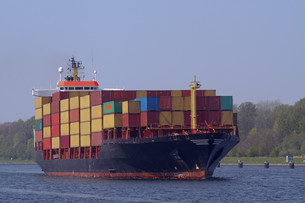 container shipの写真素材 [FYI00806304]