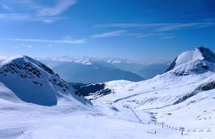 ski resortの写真素材 [FYI00806522]