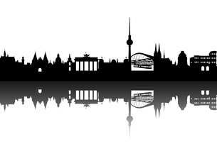 deutschlan skyline abstractの写真素材 [FYI00806554]