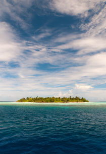 desert island in the indian oceanの写真素材 [FYI00806897]