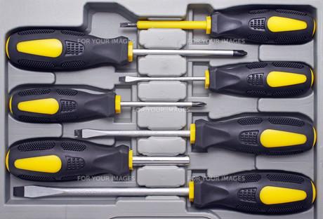 screwdriver box - screwdriverの写真素材 [FYI00807186]