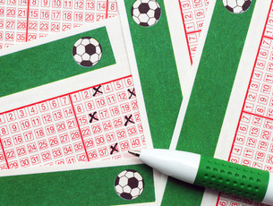 football toto / lotto - soccer lotteryの写真素材 [FYI00807206]