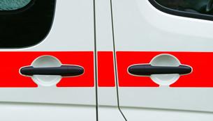 ambulance car detail - ambulance detailの写真素材 [FYI00807220]